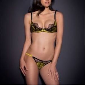 Agent Provocateur Leisa Bra and Panty set